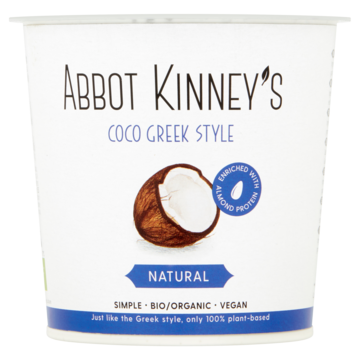 Abbot kinney's coco greek style natural 350 ml Jumbo