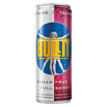 Bullit sugar free full berry 250 ml Jumbo