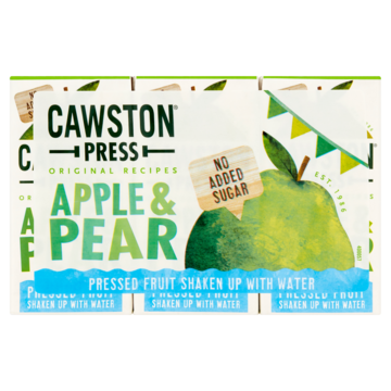 Cawston Press apple & pear 3 x 200 ml Jumbo