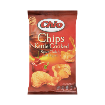 Chio Kettle cooked sweet chili-red pepper 150 g Jumbo