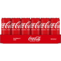 Coca-Cola Regular tray 24 x 0,33 l Albert Heijn