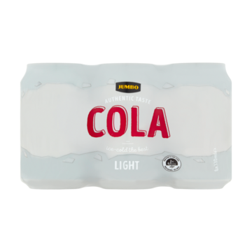 Cola light 6 x 0,33 l Jumbo