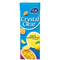 Crystal Clear lemon passion fruit 1,5 l Albert Heijn