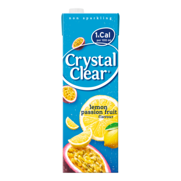 Crystal Clear lemon passion fruit 1,5 l Jumbo