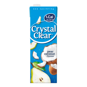 Crystal Clear pear coconut 1,5 l Jumbo