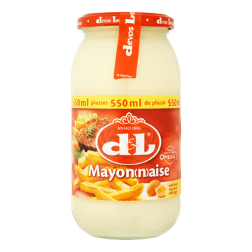 D&L Mayonaise met Eieren 550ml Jumbo