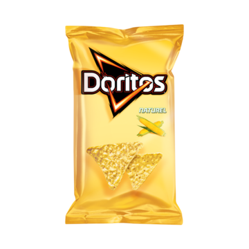 Doritos Naturel 205 g Jumbo