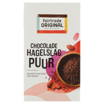 Fairtrade Original hagelslag puur 380 g Jumbo
