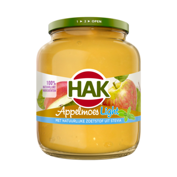 Hak Appelmoes light 700 g Jumbo