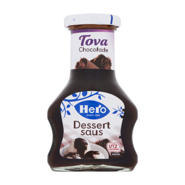 Hero tova dessertsaus chocolade 125 ml Jumbo