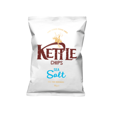 Kettle Chips Sea salt 150 g Jumbo