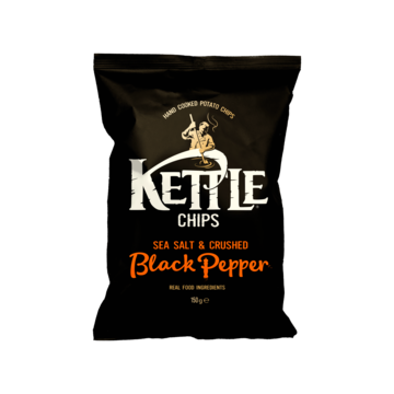 Kettle Chips Sea salt-crushed black pepper 150 g Jumbo