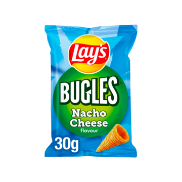 Lay's Bugles maissnack nacho cheese 30g Jumbo