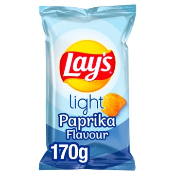 Lay's Light paprika 170 g Jumbo