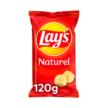 Lay's Naturel 120 g Jumbo