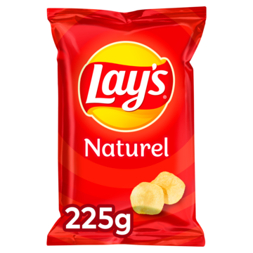 Lay's Naturel 225 g Jumbo