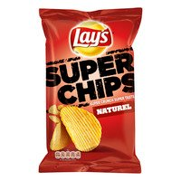 Lay's Superchips naturel 215 g Albert Heijn