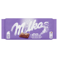 Milka Tablet Alpenmelk 100 g Albert Heijn