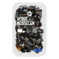 Mosselen medium 1 kg Albert Heijn
