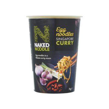 Naked Noodle singapore curry 78 g Jumbo