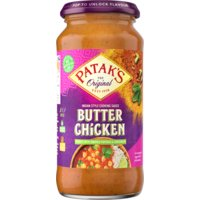Patak's butter chicken saus 450 g Albert Heijn