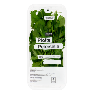 Platte peterselie 15 g Jumbo