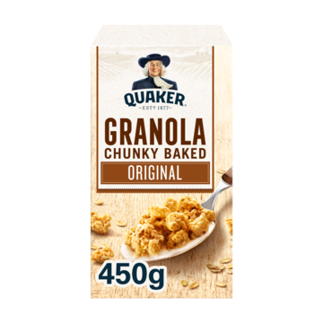 Quaker havermout granola naturel 450 g Jumbo