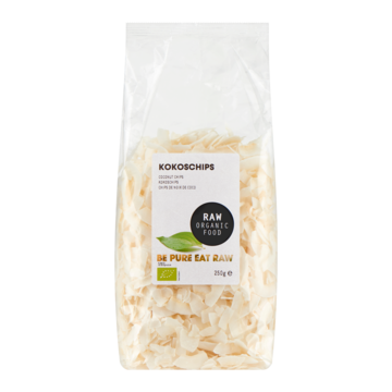 Raw Organic Food kokoschips 250g Jumbo