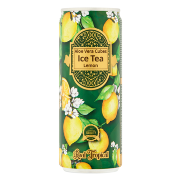 Real Tropical ice tea citroen 330 ml Jumbo
