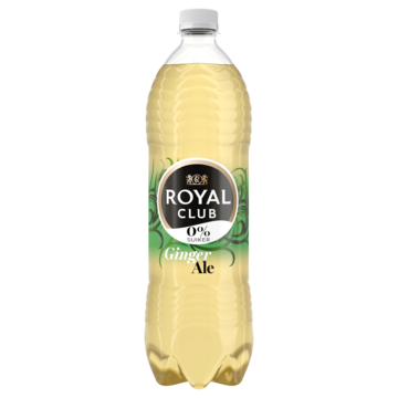 Royal Club ginger ale 0% suiker 1 l Jumbo