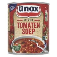 Unox Soep in blik stevige tomatensoep 800 ml Albert Heijn